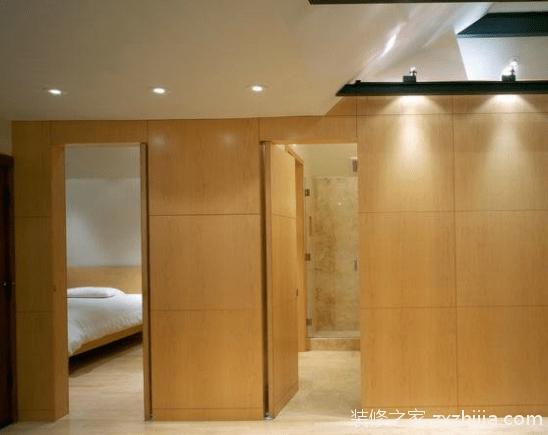 什么是卫生间暗门?卫生间暗门装修效果图