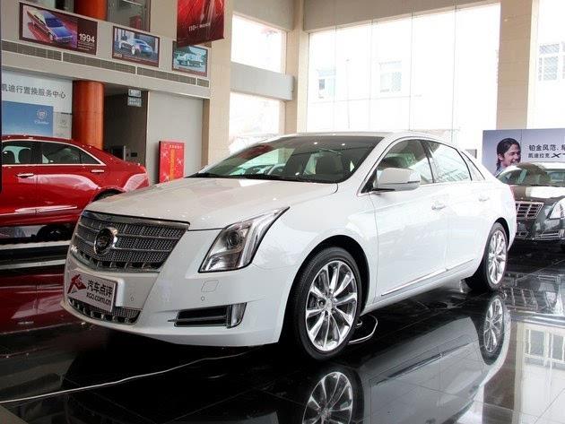 凯迪拉克XTS提供65000广州汽车促销