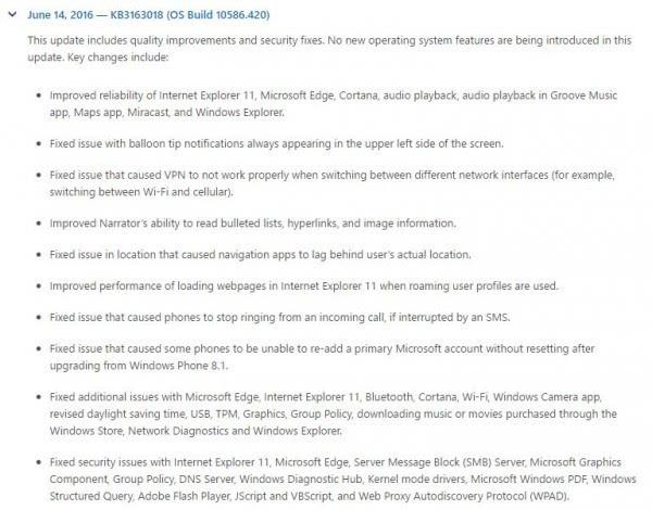 微软发布两款Windows 10累积更新的照片 - 2
