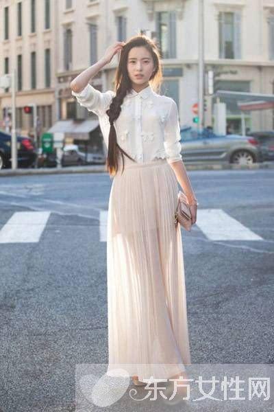波西米亚裙子搭配 无以伦比的仙女范儿
