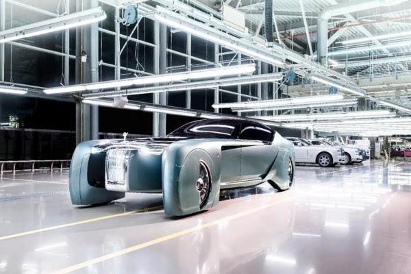 劳斯莱斯首款概念车:搭自动驾驶+零污染的照片 - 2