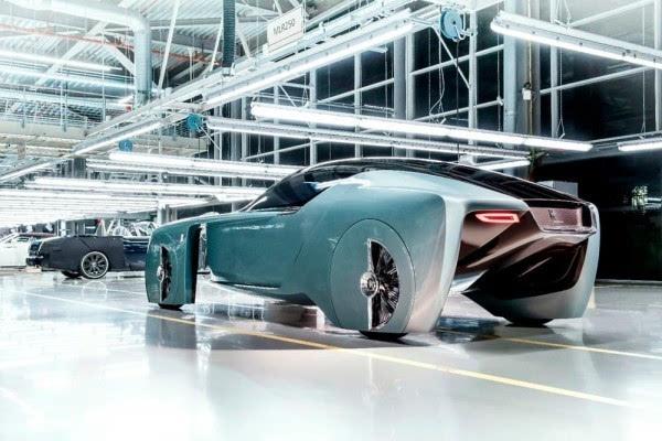 劳斯莱斯首款概念车:搭自动驾驶+零污染的照片 - 3