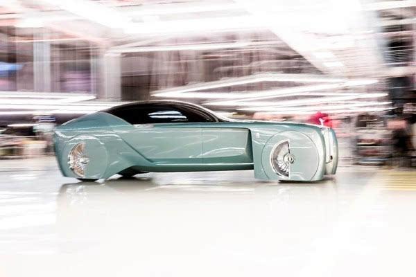 劳斯莱斯首款概念车:搭自动驾驶+零污染的照片 - 4