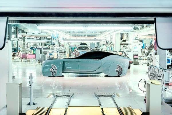 劳斯莱斯首款概念车:搭自动驾驶+零污染的照片 - 5