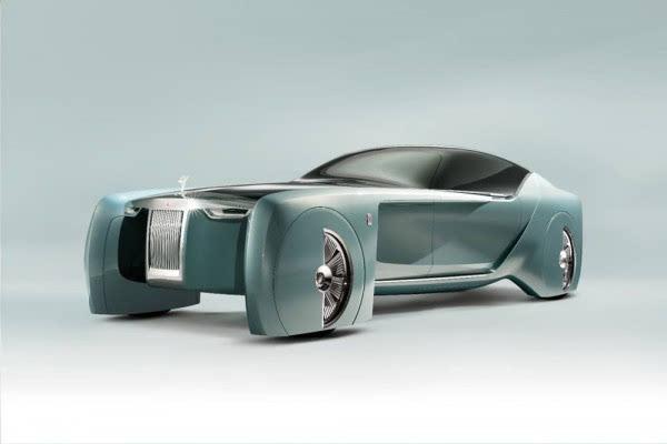 劳斯莱斯首款概念车:搭自动驾驶+零污染的照片 - 9
