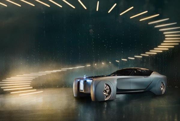 劳斯莱斯首款概念车:搭自动驾驶+零污染的照片 - 13