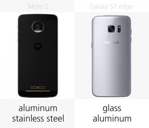 Moto Z和三星Galaxy S7 edge规格参数对比的照片 - 5