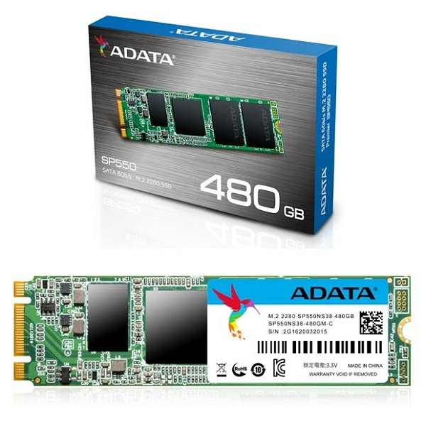 威刚发布Premier SP550 M.2 2280 SATA SSD新品的照片 - 1