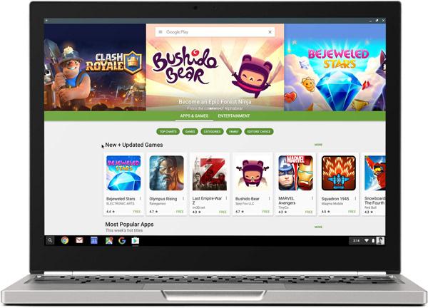 Chromebook兼容安卓就能撼动PC和Mac地位?的照片 - 3