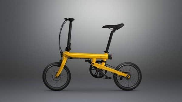 年轻人的第一款助力车:小米米家电助力折叠自行车发布的照片 - 1