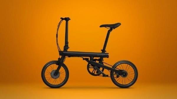 年轻人的第一款助力车:小米米家电助力折叠自行车发布的照片 - 4