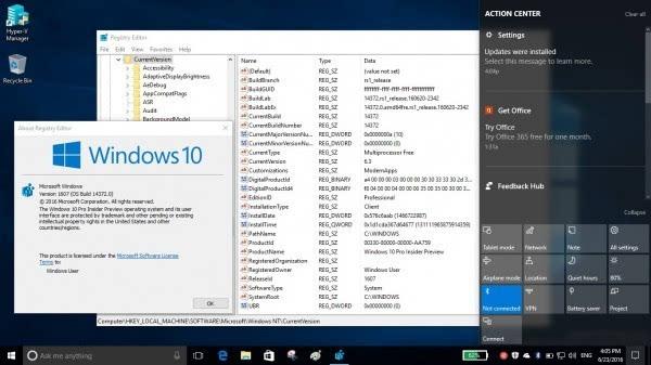 Windows 10 Build 14372发布:新增Evernote扩展的照片 - 4