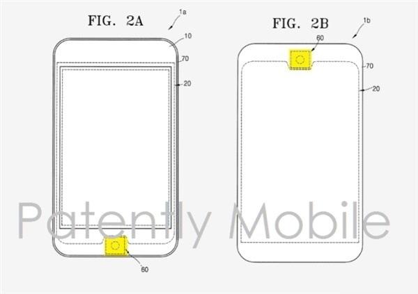 三星新专利曝光:正面圆形指纹识别Home键 像极iPhone的照片 - 2