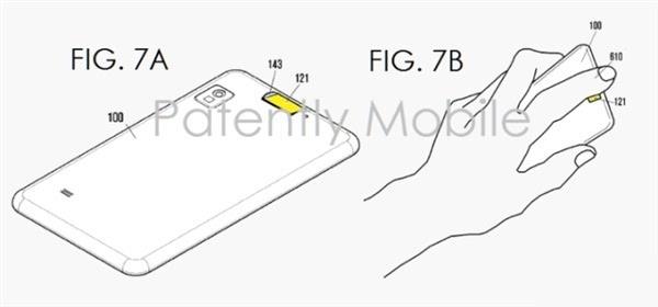 三星新专利曝光:正面圆形指纹识别Home键 像极iPhone的照片 - 3