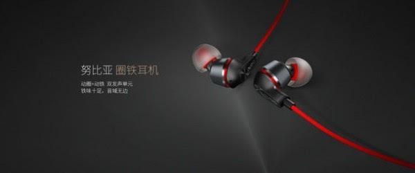 红与黑的碰撞:努比亚发布新款圈铁耳机 售价99元的照片 - 2