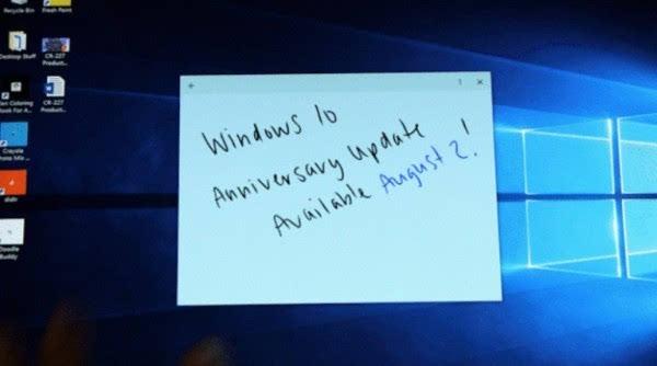 Windows 10周年更新将于8月2日正式发布的照片 - 1