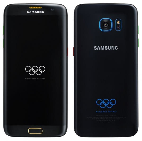 三星7月7日将推出的Galaxy S7 Edge奥运版的照片