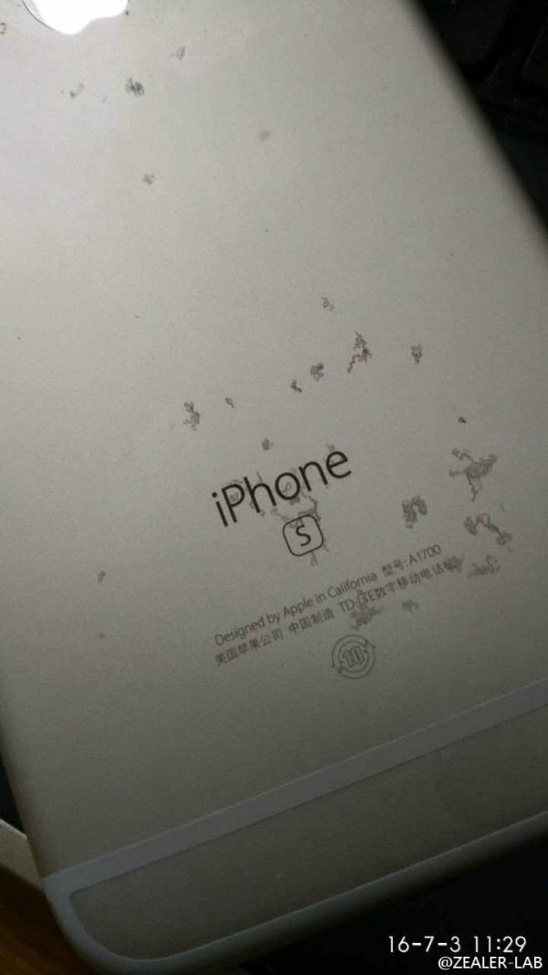 """不忍直视:玫瑰金iPhone 6S氧化变""""蕾丝""""的照片 - 3"""