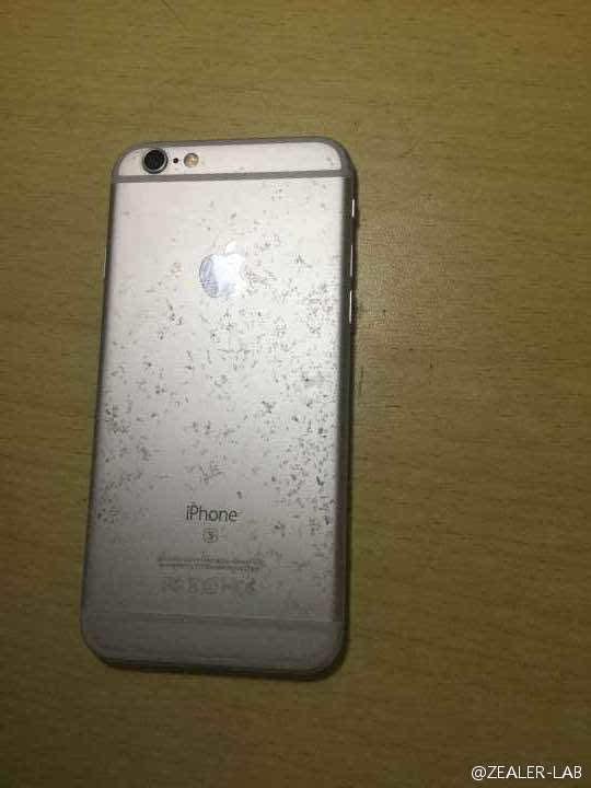 """不忍直视:玫瑰金iPhone 6S氧化变""""蕾丝""""的照片 - 6"""