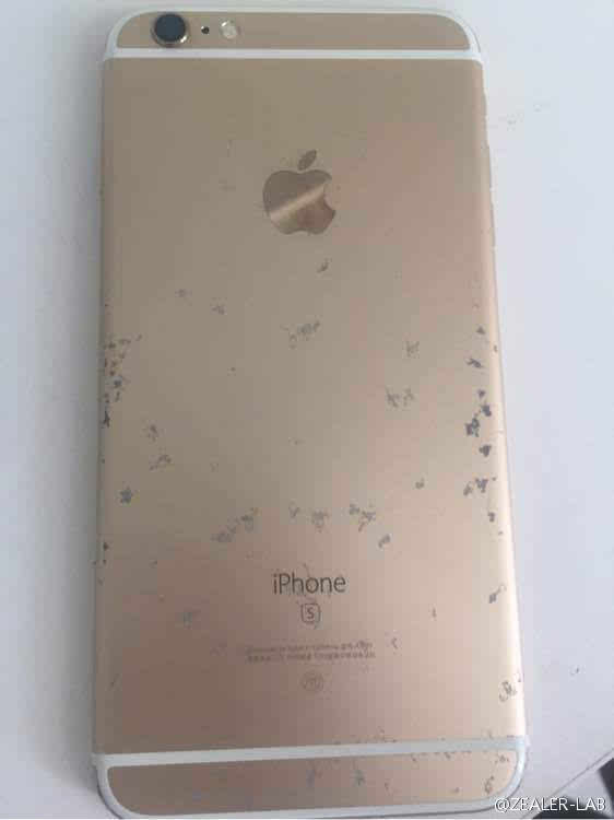 """不忍直视:玫瑰金iPhone 6S氧化变""""蕾丝""""的照片 - 9"""