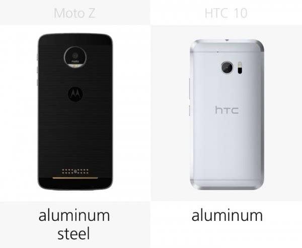 Moto Z和HTC 10规格参数对比的照片 - 5