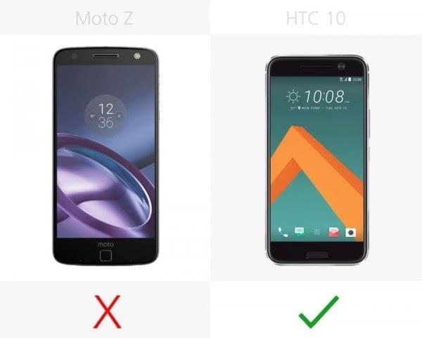 Moto Z和HTC 10规格参数对比的照片 - 20