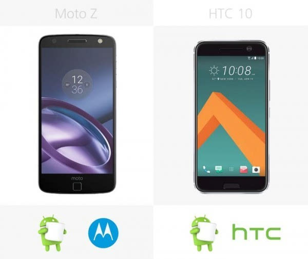 Moto Z和HTC 10规格参数对比的照片 - 24
