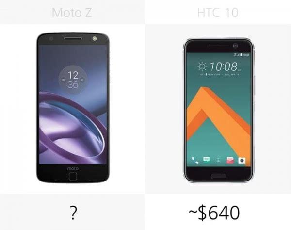 Moto Z和HTC 10规格参数对比的照片 - 26