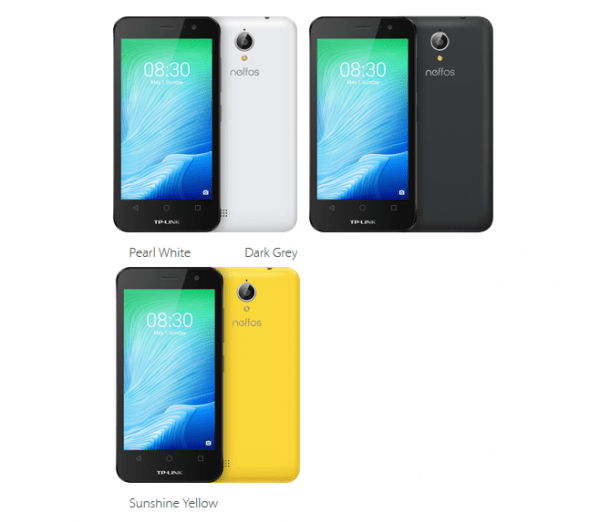 TP-Link发布入门级智能手机Y5L的照片 - 2