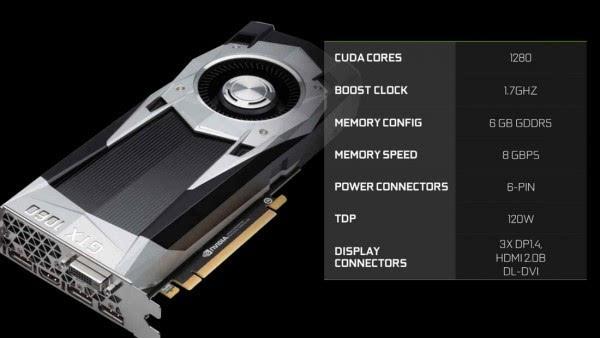 NVIDIA GTX 1060正式发布的照片 - 1