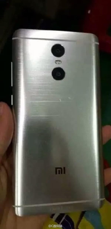 红米Note 4真机曝光:采用双摄像头及双LED闪光灯设计的照片 - 1
