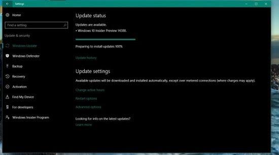 Windows 10 Build 14388推送:PC/手机双版 迎接周年更新的照片 - 2