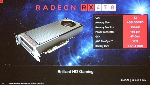 即将到来:AMD披露Radeon RX 470/460独显更多细节的照片 - 1
