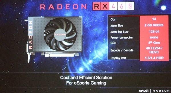 即将到来:AMD披露Radeon RX 470/460独显更多细节的照片 - 2