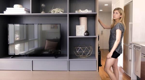 """这款""""变形""""家具机器人能够充分利用居住空间的照片 - 1"""