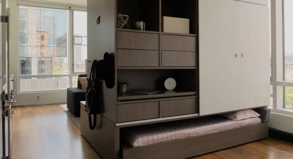 """这款""""变形""""家具机器人能够充分利用居住空间的照片 - 2"""