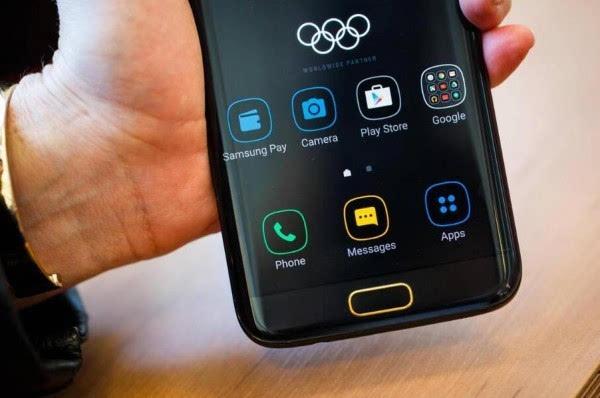 三星Galaxy S7 Edge奥运限量版图赏的照片 - 4