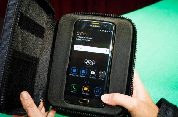 三星Galaxy S7 Edge奥运限量版图赏的照片 - 12