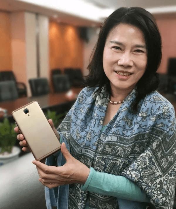 董明珠:格力要做世界最好的手机的照片