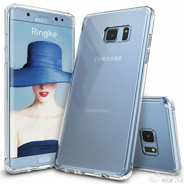 三星Galaxy Note 7渲染图曝光 来自保护套厂商的照片 - 1