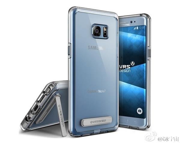 三星galaxy note2蓝_三星Galaxy Note 7渲染图曝光 来自保护套厂商 | N软网