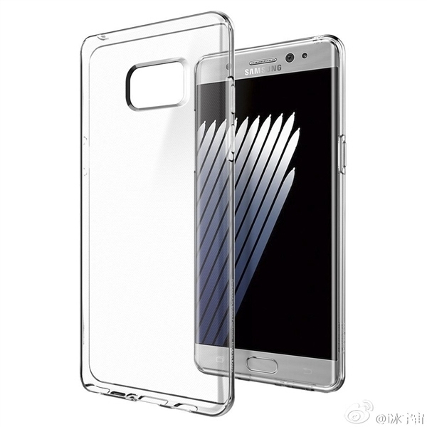 三星Galaxy Note 7渲染图曝光 来自保护套厂商的照片 - 4