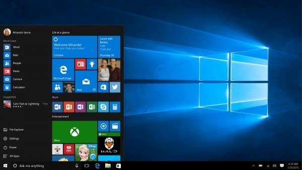 微软称Windows 10周年更新几乎准备就绪的照片