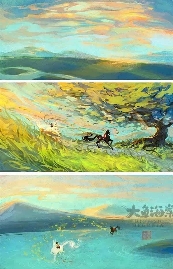 《大鱼海棠》官方手稿发布的照片 - 21