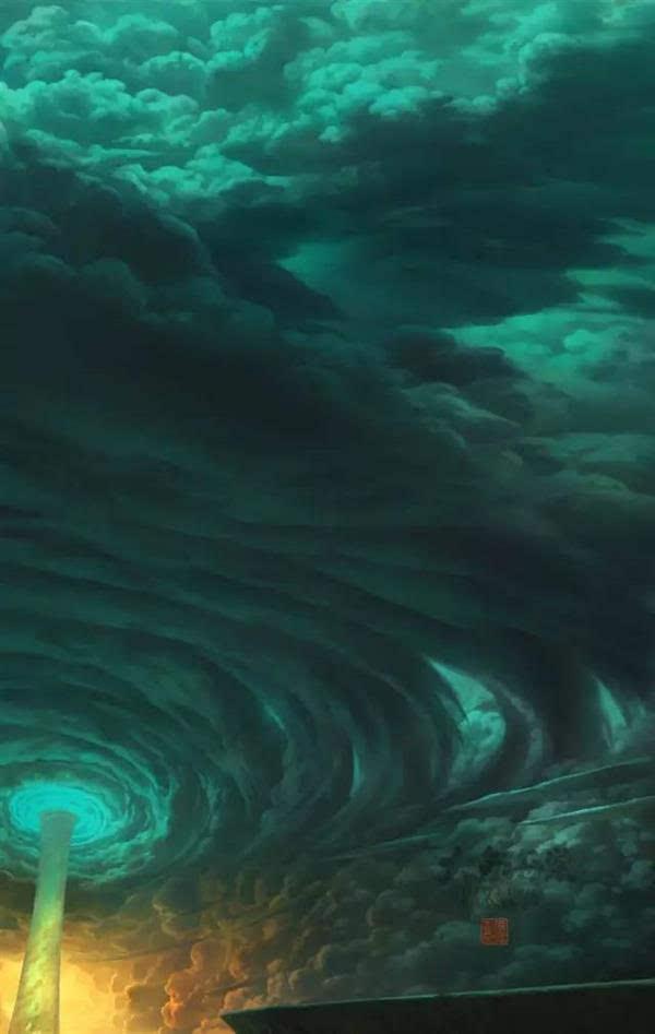 《大鱼海棠》官方手稿发布的照片 - 26