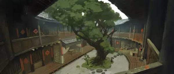 《大鱼海棠》官方手稿发布的照片 - 9
