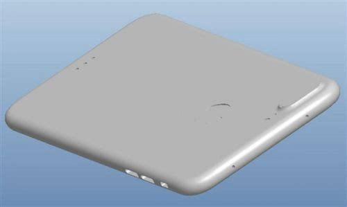 疑似iPhone 7 Plus 3D工程图曝光: 双摄像头的照片 - 3