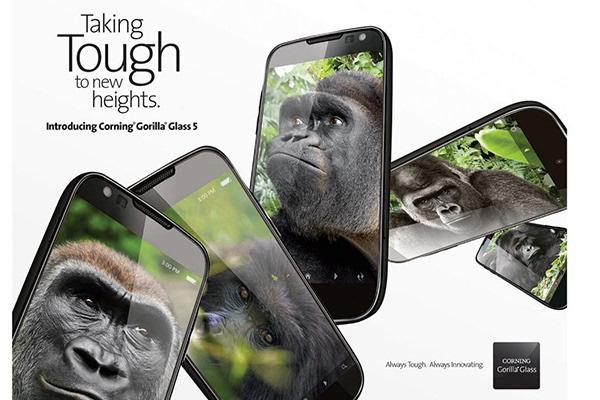 康宁发布第五代大猩猩玻璃 以后别给手机贴膜了的照片 - 1