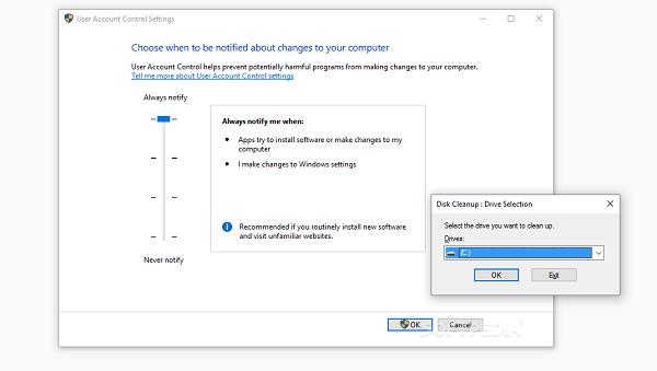 Windows 10磁盘清理工具可被用于绕过UAC的照片 - 1