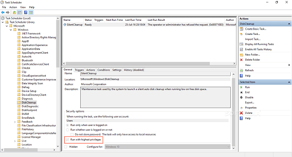 Windows 10磁盘清理工具可被用于绕过UAC的照片 - 2